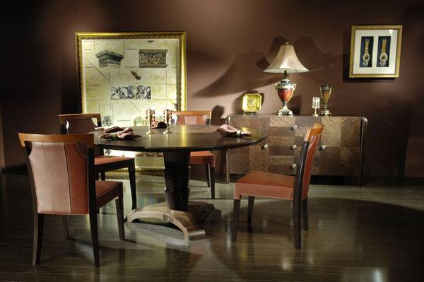 High-end designer furniture: restaurant furniture, dining chairs & table - Shanghai JL&C