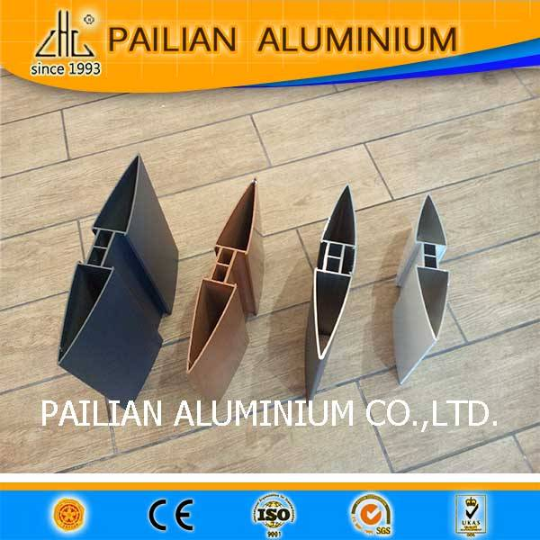 AU standrd sizen 6063T5 aluminium profiles for louver china suppiler