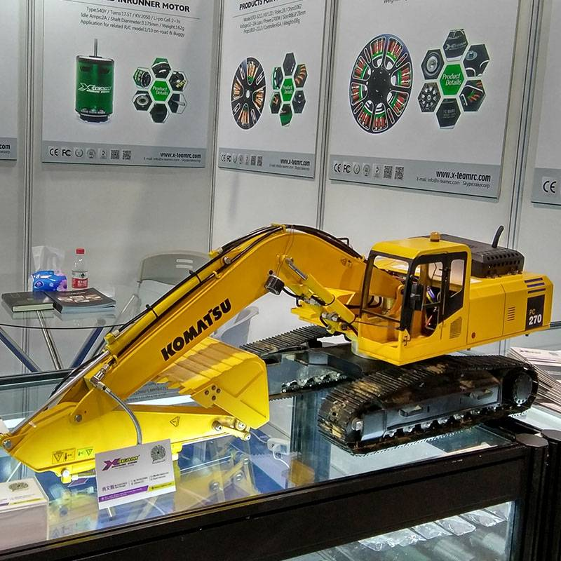 New 1:12 Hydraulic RC excavator model