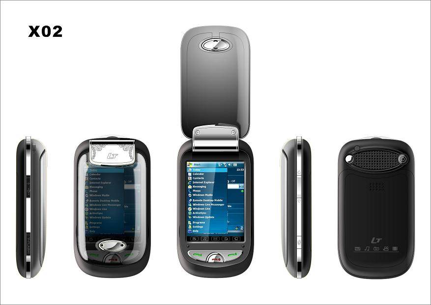 dual gsm, dual sim, dual working mobile phone (cell phone) X02