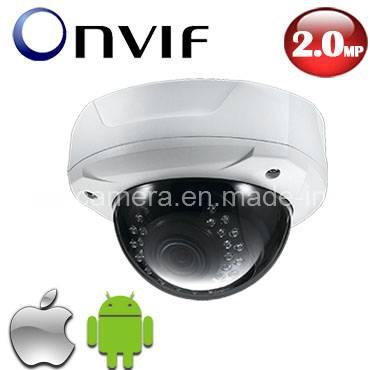 1080P HD Onvif Vari-Focal Vandal-Proof IR Dome Megapixal IP CCTV Camera