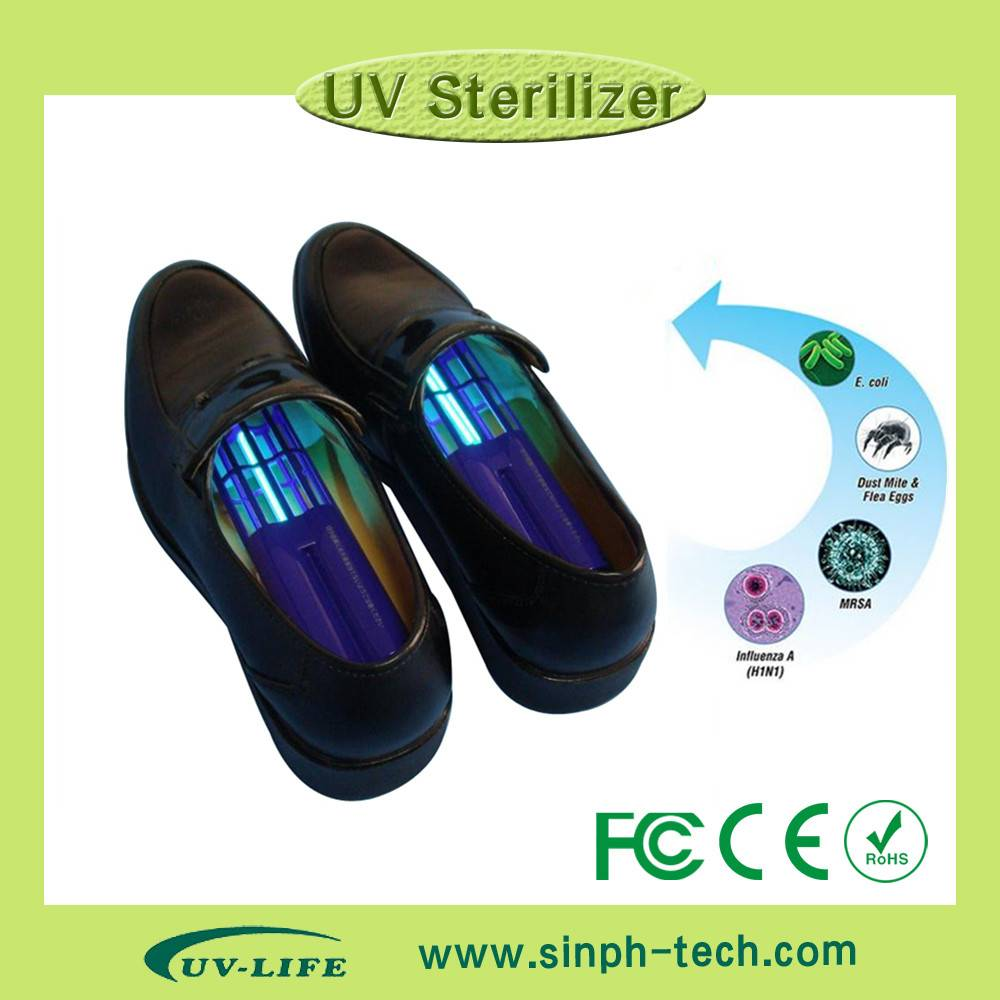 UV-C boots/ leather shoes/ basketball shoes deodorizer