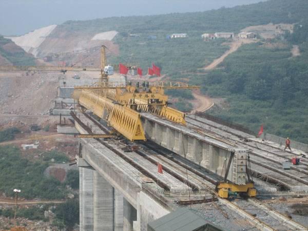 bridge girder erection machine
