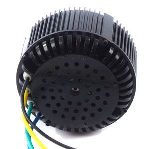 48v 5kw bldc motor,fan cooled