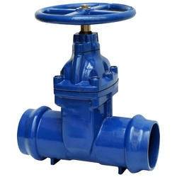 socket end resilient seated gate valve