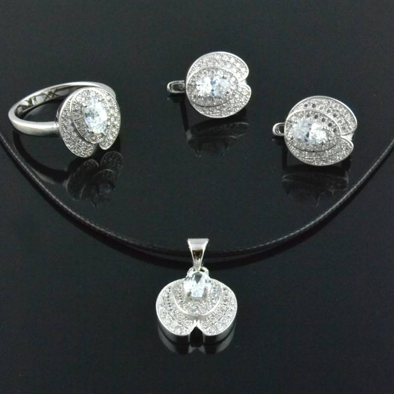 2013 Newest Fashion Sterling Silver Jewelry Sets