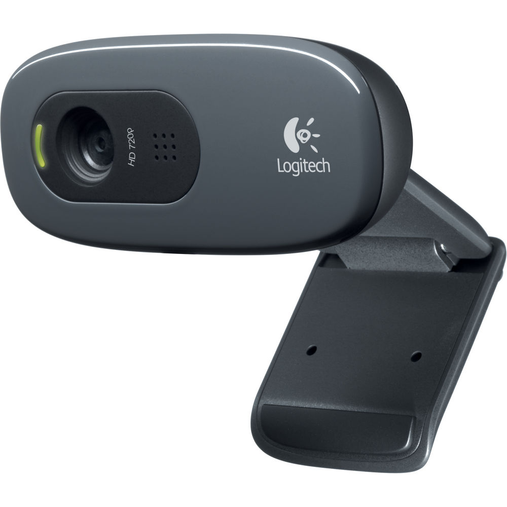 Logitech-C270 HD Webcam (Black)