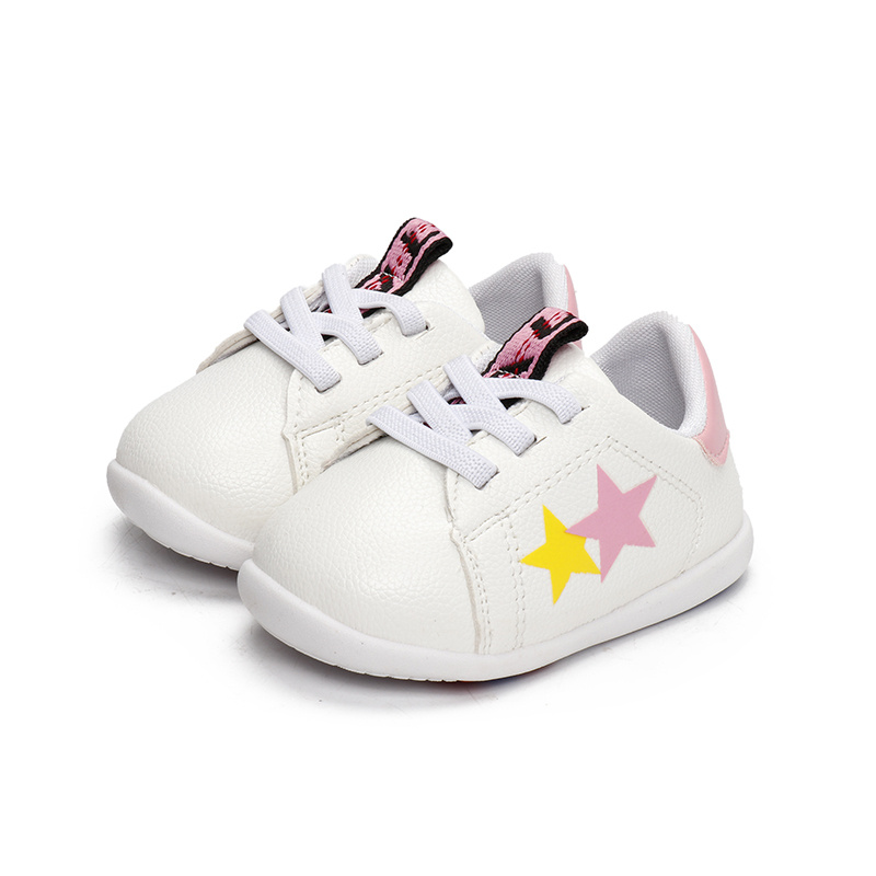 LiSi Brand 2018 Wholesale Shoes Baby Pink Shoes Comfortable Shoes For Walking Kids Shoes LSSL03