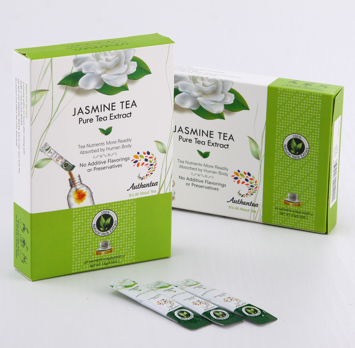 Instant Jasmine Green Tea for Fitness