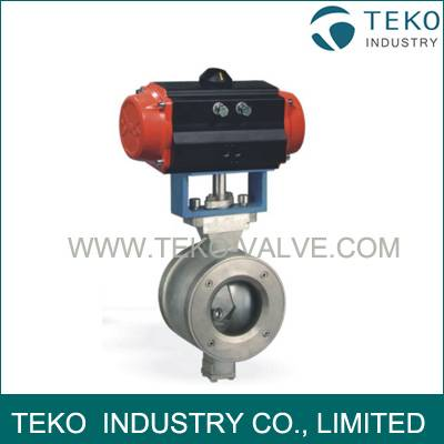 V Control Regulating Ball Valve