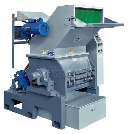 Plastic-Sheet/Film Granulators with Optional Purchase of Rolling Function for Film in Recycling Line