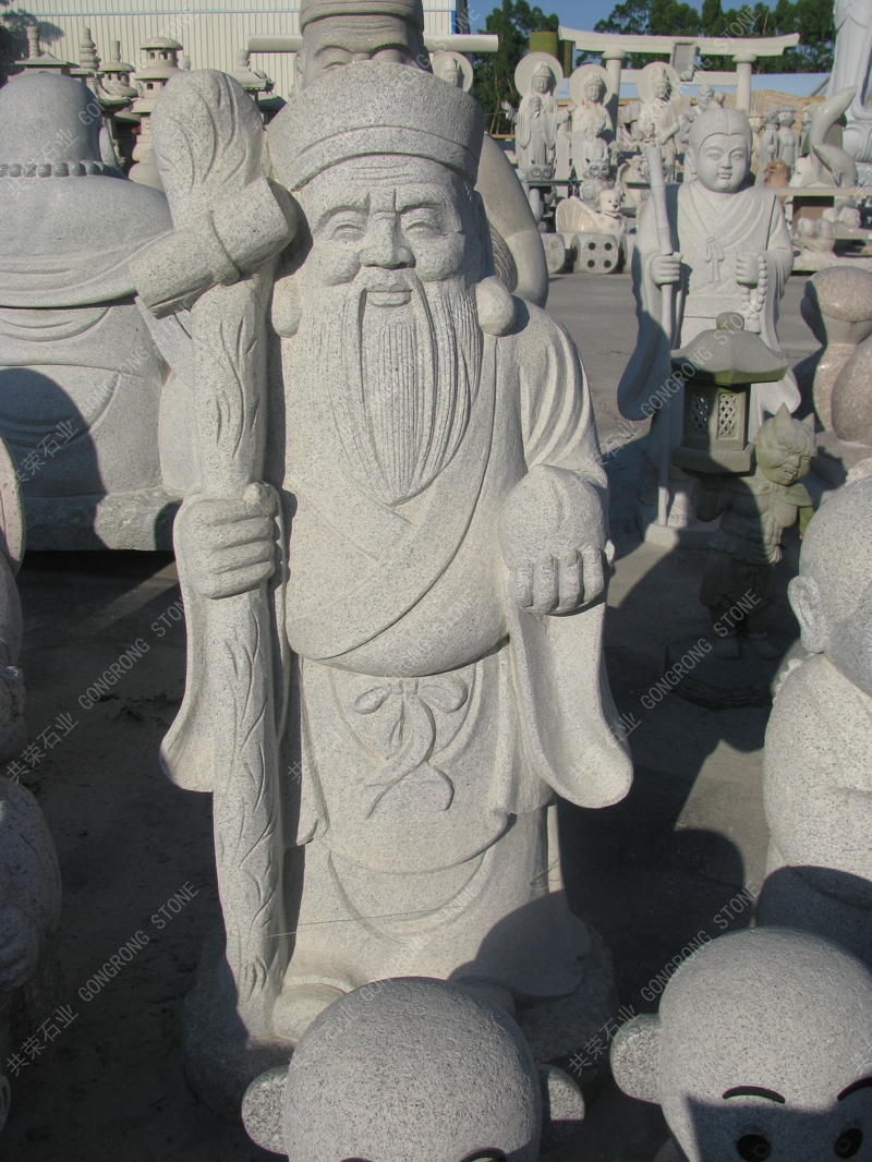 longevity god sculpture