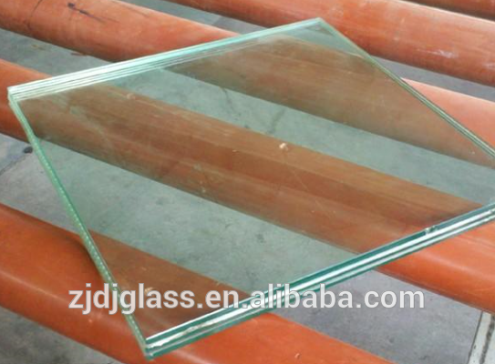 Clear PVB film laminated glass