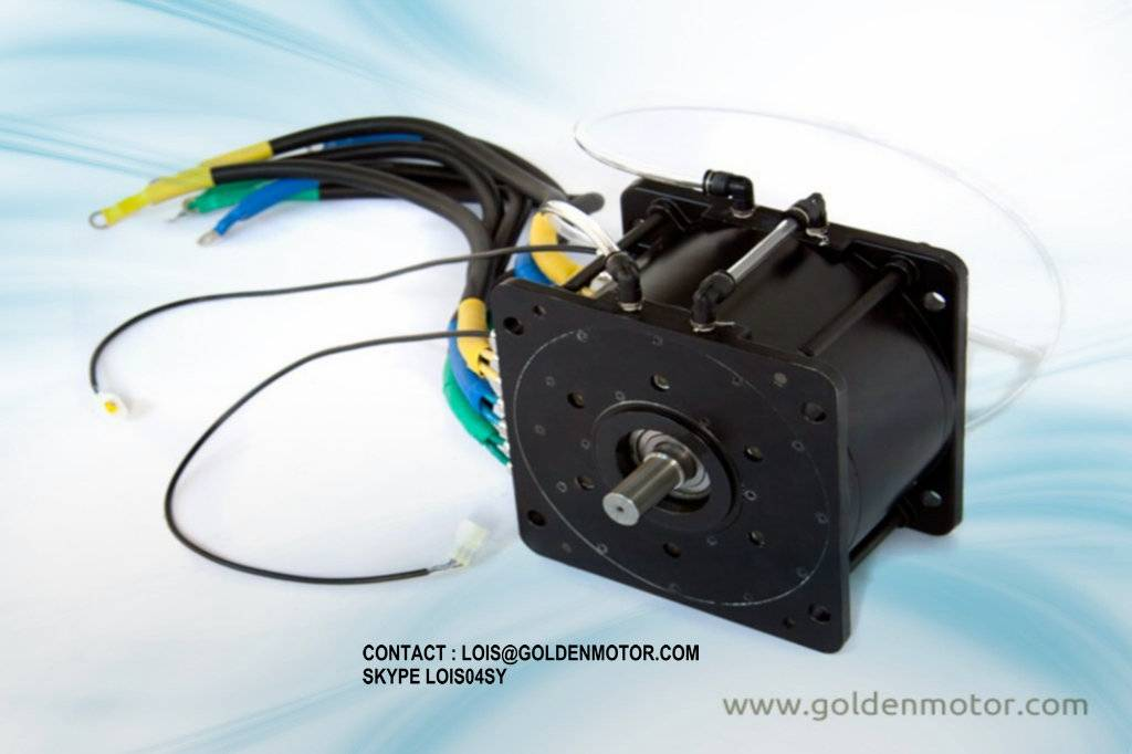72V96V 20kw bldc motor,fan cooled