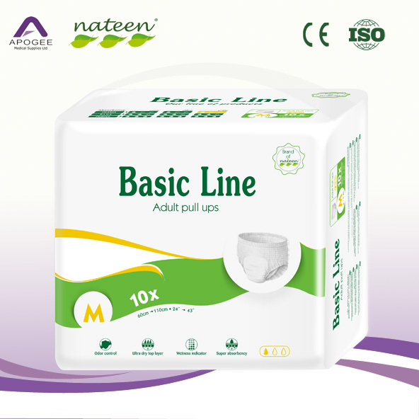 Breathable Adult Pant Diaper Incontinence Pants for Old People