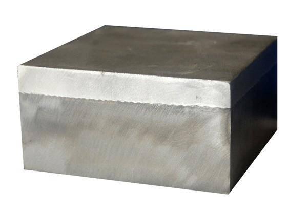 Titanium steel clad sheet