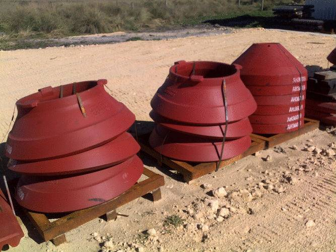 metso HP300 concave  of metso cone crusher  wear parts