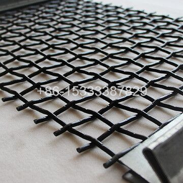 65Mn Steel Vibrating Screen Mesh