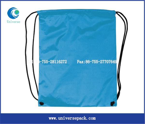 Hot-selling  drawstring  nylon backpack bag