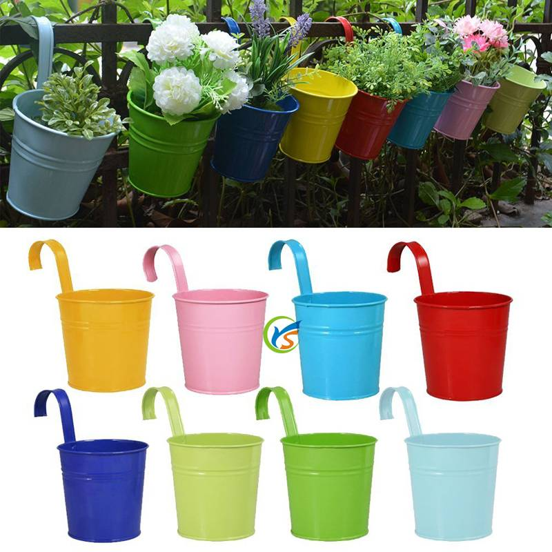 Wholesale Galvanized metal flower pots