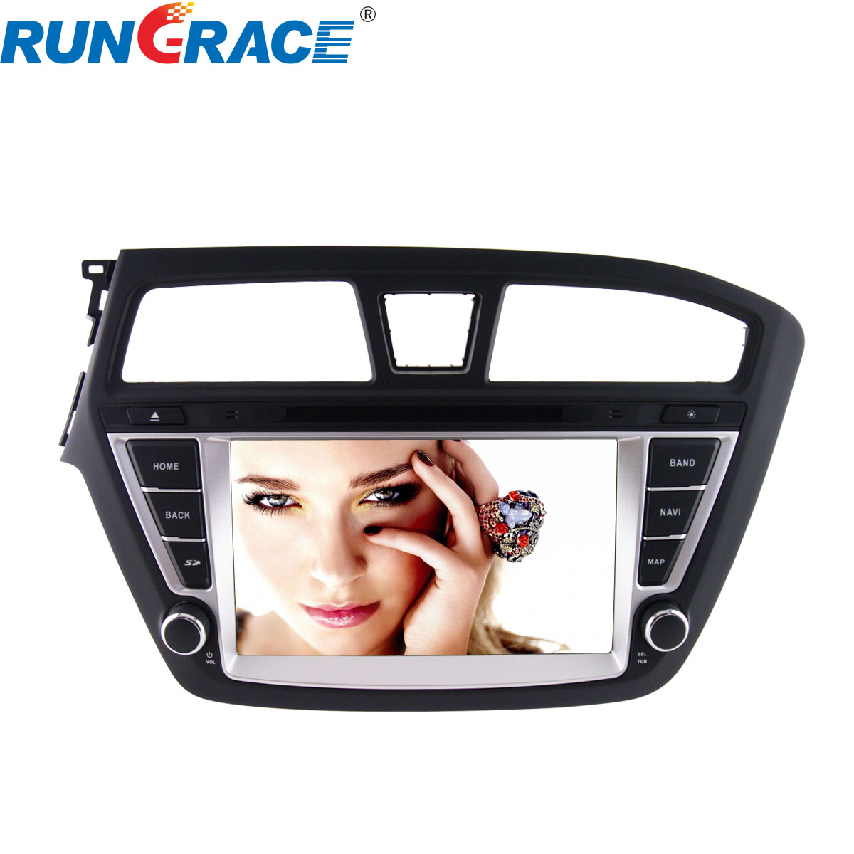 8 inch touch screen android gps car dvd player for Hyundai i20