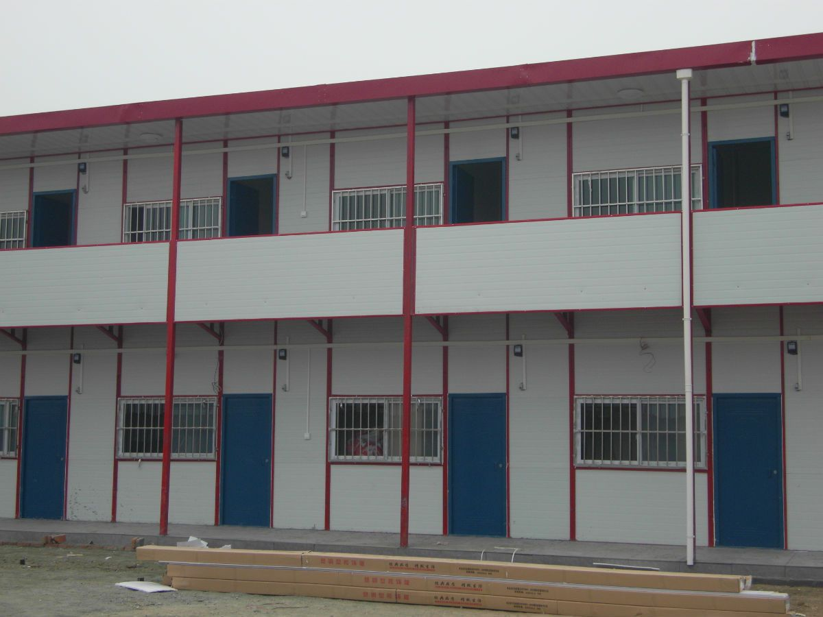 prefabricated house-nanyang xinxing steel structure
