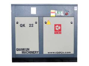 Frequency Saving Energy Electric Fixed Screw Air Compressor (QKZ22KW)