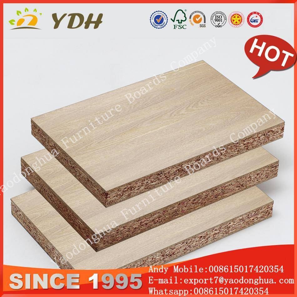 Water proof cheap particle board, plain particle board