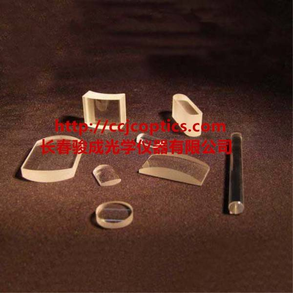 Sapphire optical glass crystal biconcave double convex cylindrical lens