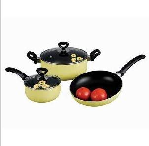 7 PCS Colorful Aluminum Cookware Set