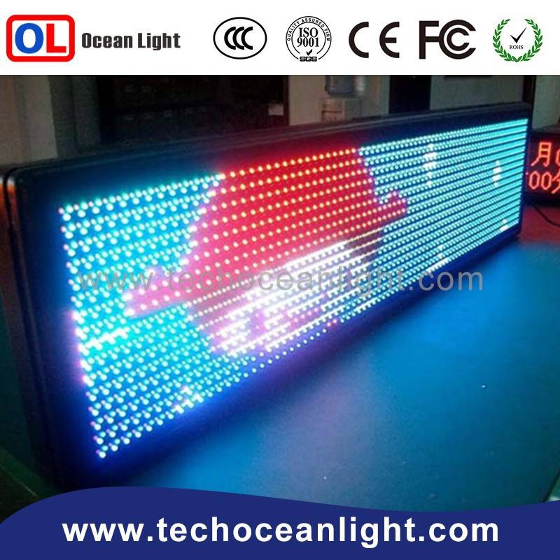 Small led desktop display board price / new 2015 Mini LED display panel