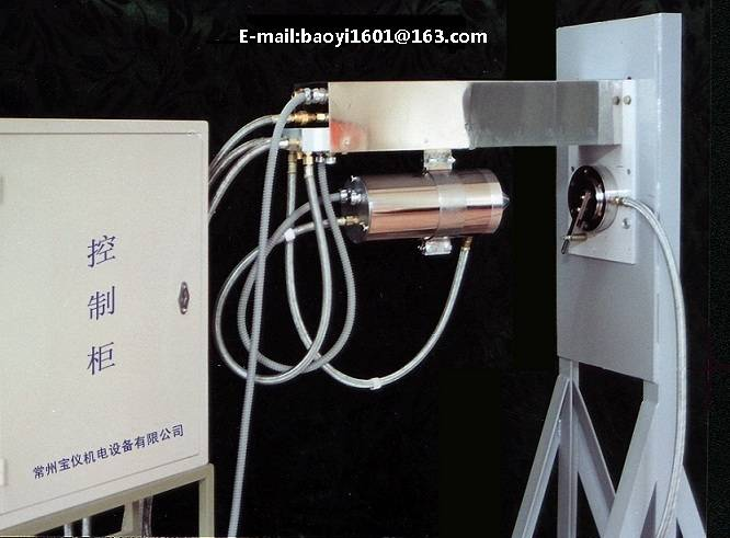 high temperature furnace camera system