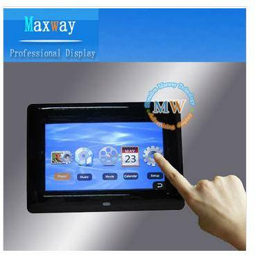 7 inch touch screen digital photo frame