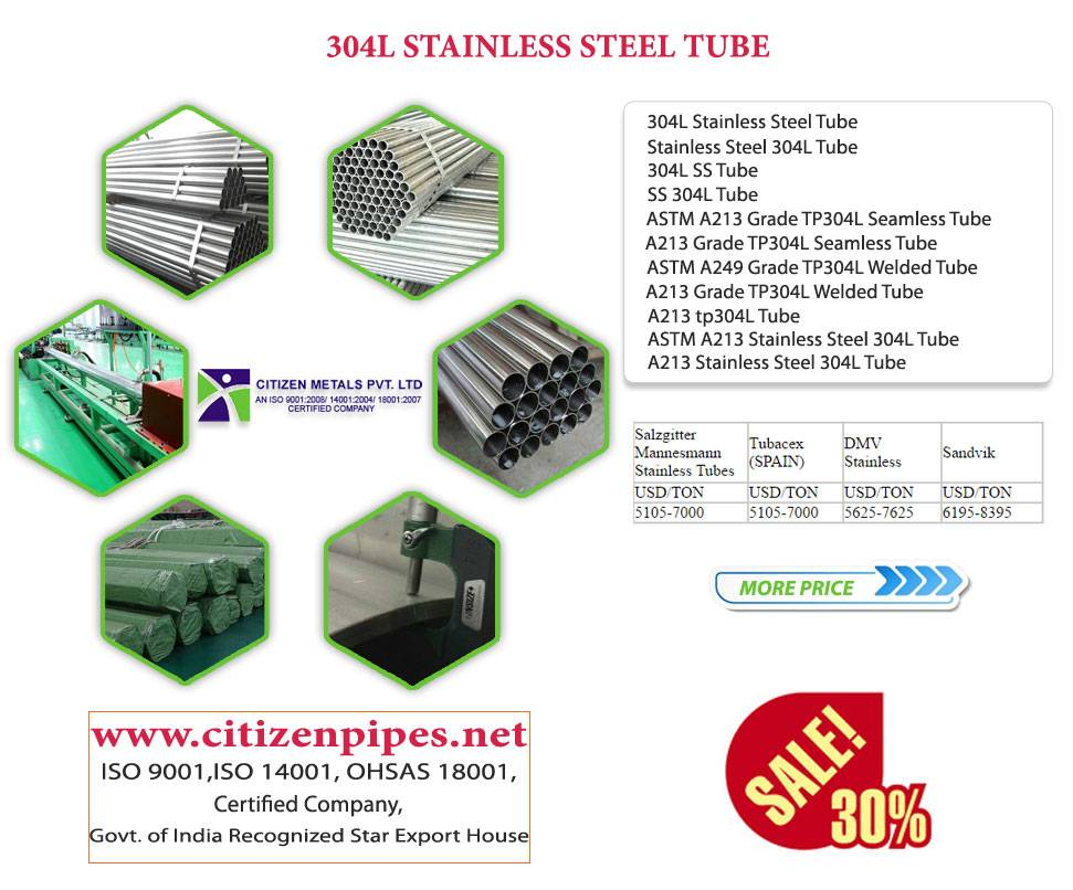 304L stainless steel Tub