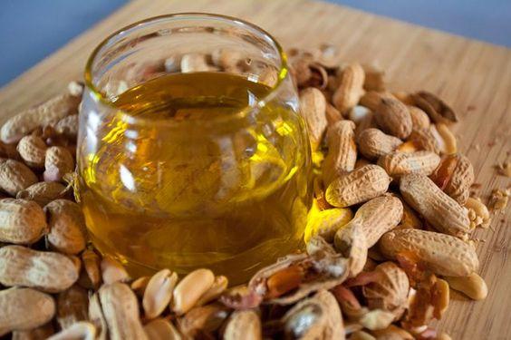 groundnut oil/peanut oil, corn oil, sunflower oil