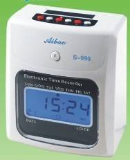 2014  Attendance  puch  time clock S-990