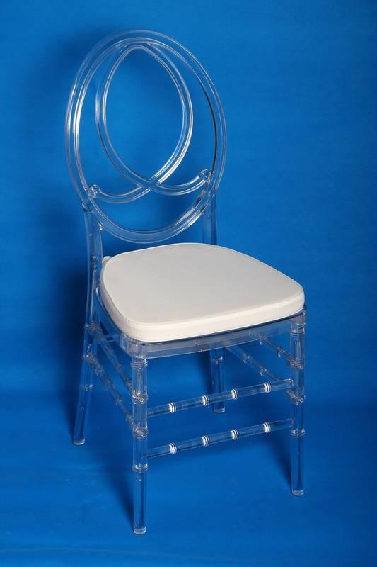 Resin Clear Phoenix Chair