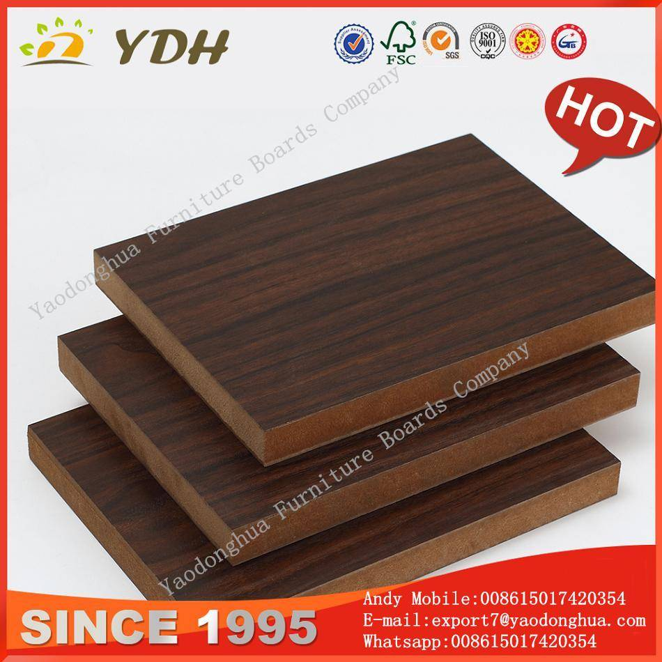 Melamine board on plywood, plywood board factory Red Kapok
