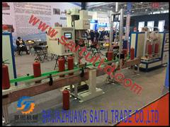 full automatic fire extinguisher filling and assembling line
