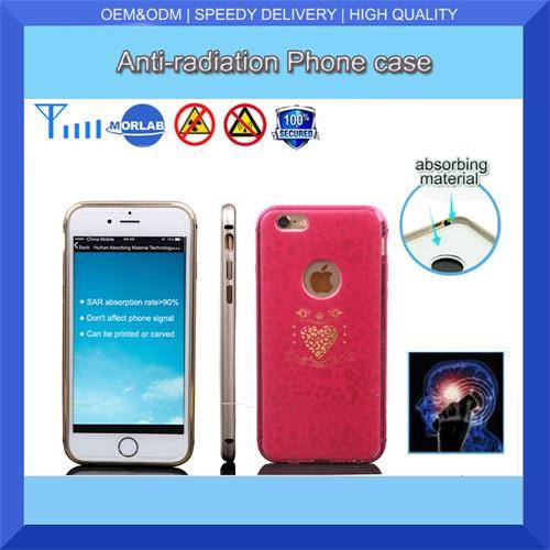 china supplier anti-radiation custom printing waterproof plastic cell phone case