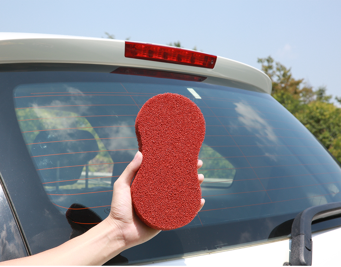 car sponge strong cleaning ability two side car washing silicone sponge better sponge