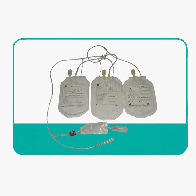 Triple blood bag 450ml