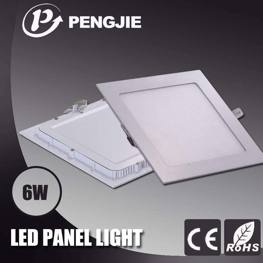 PengJie LED Panel light-6W-Square