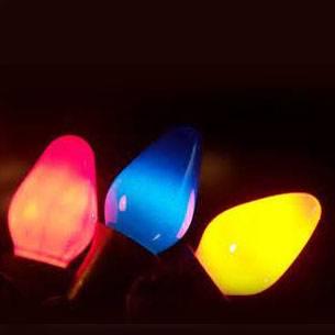 C9 Christmas lights