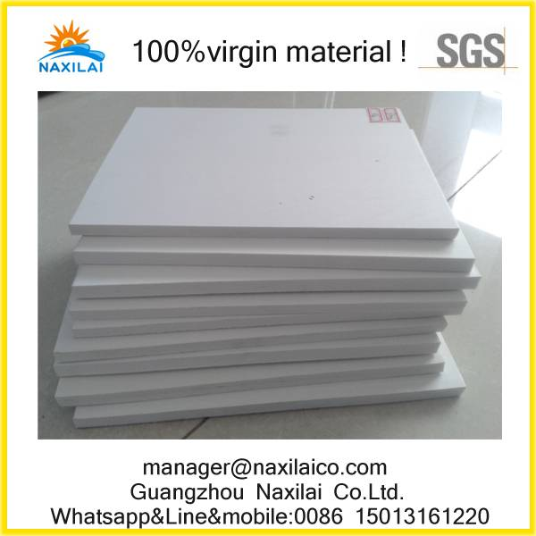 High-impact strength PVC plastic shim customized to fit your needs