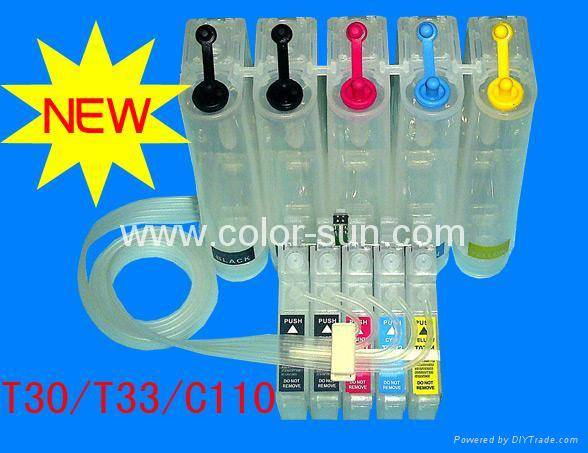 bulk ink system (CISS)T30/T33/C110 CISS with switch