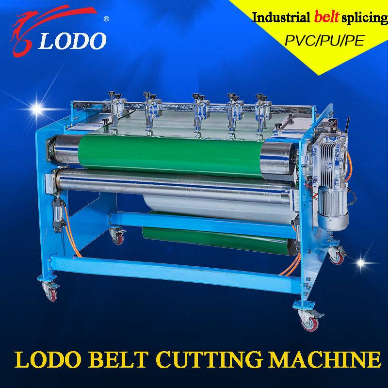 Hot Selling Belt Cutting Machine for PE Pvk PU PVC Coveyor Belt