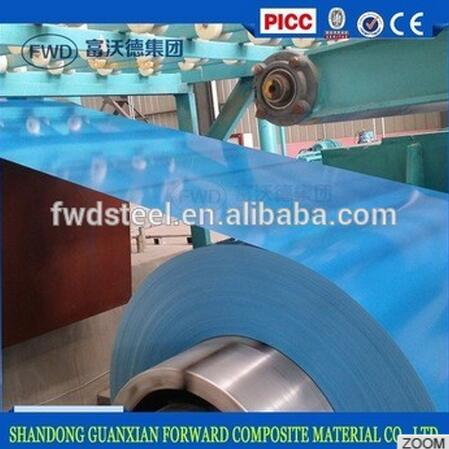 High quality prepainted galvanized steel coils, PPGI steel coils