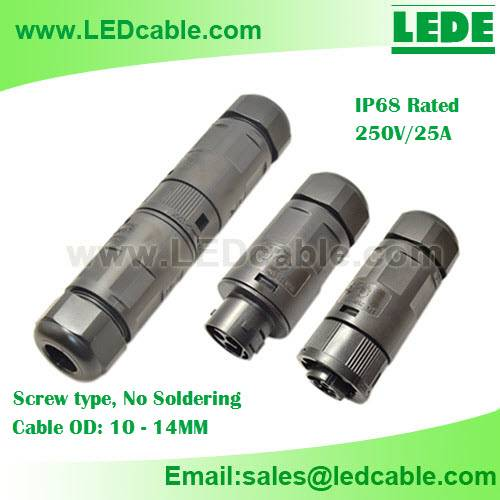 25A IP68 Waterproof Connector