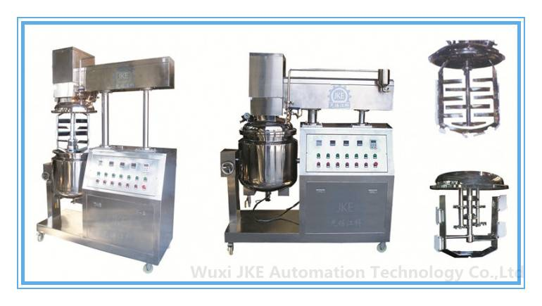 Shampoo/Detergent/Hand Liquid Soap Vacuum Homogenizer Machine,Cosmetics Manufacturing Equipment